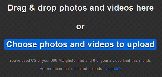 choose photos and videos to upload flickr
