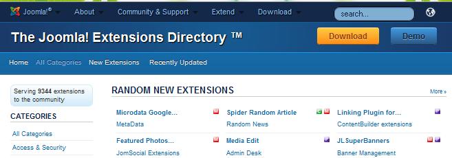 joomla extension
