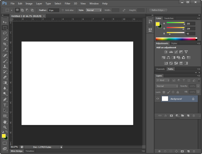 photoshop cs6 layer