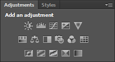 photoshop adjustment