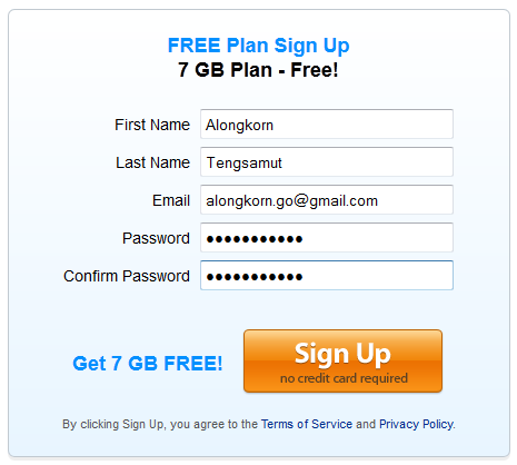 mimedia free plan sign up