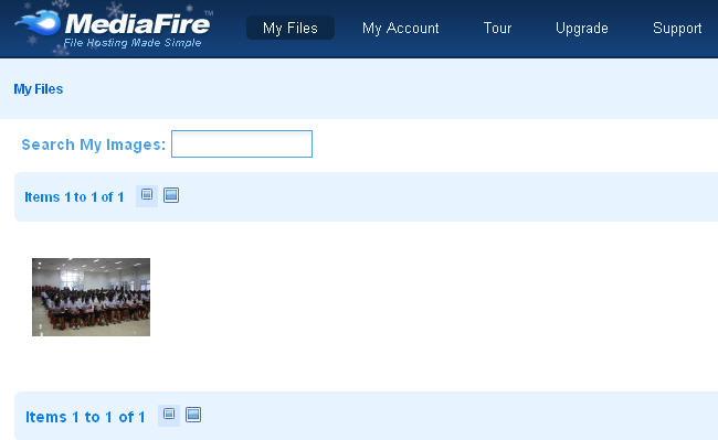 mediafire gallery view